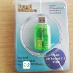 USB Sound Card 3D Virtual Audio Sound Card