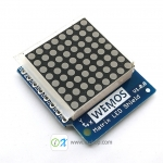 Matrix LED Shield V1.0.0 for WEMOS D1 mini