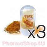 (ซื้อ3 ราคาพิเศษ) โรลออนสารส้มเกรซ สูตรขมิ้นชัน (สีเหลือง) 70กรัม ไม่มีน้ำหอม กำจัดแบคทีเรีย ระงับกลิ่นใต้วงแขน