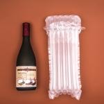 กันกระแทกขวดแก้วขวดไวน์ (ขวดอ้วนกว่าปกติ) เป่าลม 9.5x16 นิ้ว (24x41 cm) ขวดสูงไม่เกิน 35CM