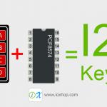 ลดสายใช้งาน Keypad เหลือ 2 เส้นด้วย PCF8574 พร้อมมินิโปรเจค