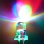 LED ขนาด 5mm กระพริบ 3 สี อัตโนมัติ LED 5mm 3-colours Blink