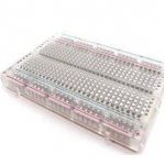 ขายส่ง 10 ตัว Mini Transparent hi-quality bread board 400 holes