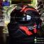 หมวกกันน็อคReal รุ่นBravo Electro สีดำ-แดงด้าน thumbnail 3