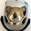 Shieldหรือหน้ากากหมวกกันน็อค แนววินเทจ(เปิดหน้ากากได้)ทรง BUBBLE สีปรอทเงิน thumbnail 2