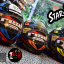 หมวกกันน็อคReal รุ่นHornet - Star-T สีดำ-ส้ม thumbnail 5