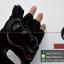 ถุงมือpro-biker (ครึ่งนิ้ว) สีดำ (ราคาพิเศษ) thumbnail 7
