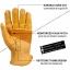 ถุงมือแนววินเทจ คลาสสิก สีเหลือง thumbnail 2