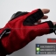 ถุงมือpro-biker (ครึ่งนิ้ว) สีแดง (ราคาพิเศษ) thumbnail 4