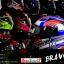 หมวกกันน็อคReal รุ่นBravo GP สีน้ำเงิน-แดง-ทอง thumbnail 7