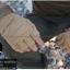 ถุงมือวินเทจ ครึ่งนิ้ว สีน้ำตาลอ่อน สำเนา thumbnail 3