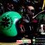 หมวกกันน็อคคลาสสิก 5เป๊ก สีเขียวอ่อนลายดำ (LB Speed Wheel) สำเนา thumbnail 1