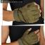 ถุงมือวินเทจ ครึ่งนิ้ว สีเขียว thumbnail 4