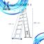 บันไดอลูมิเนียม ยืดหดได้ MX-28 ทรงพาด 5.6 เมตร, ทรง A 2.8 เมตร thumbnail 12