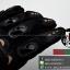 ถุงมือpro-biker สีดำ (ราคาพิเศษ) thumbnail 6