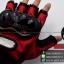 ถุงมือpro-biker (ครึ่งนิ้ว) สีแดง (ราคาพิเศษ) thumbnail 2