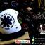 หมวกกันน็อคคลาสสิก 5เป๊ก สีขาวด้านลายดำ (LB Speed Wheel) สำเนา thumbnail 1