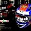 หมวกกันน็อคReal รุ่นBravo GP สีน้ำเงิน-แดง-ทอง thumbnail 1