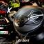 หมวกกันน็อคRider รุ่น Vision X สี Dot Black White thumbnail 4