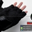 ถุงมือpro-biker (ครึ่งนิ้ว) สีดำ (ราคาพิเศษ) thumbnail 6