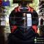 หมวกกันน็อคReal รุ่นBravo Electro สีดำ-แดงด้าน thumbnail 1