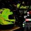 หมวกกันน็อคReal รุ่นHornet-GP-RACE สีเขียว thumbnail 5