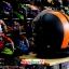 หมวกกันน็อคReal Comfort Edition สีดำ-ส้ม(ด้าน) thumbnail 4