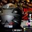 หมวกกันน็อคRider รุ่น Vision X สี Dot Black White thumbnail 3