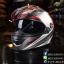 หมวกกันน็อคRider Viper สี Racing Red แบบที่ 2 thumbnail 3