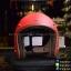 หมวกกันน็อคคลาสสิก 5เป๊กLB+ สีแดงด้าน thumbnail 1
