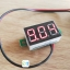 DC 3-30V Mini LED Panel Voltage Meter thumbnail 1