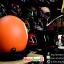 หมวกกันน็อคคลาสสิก 5เป๊ก สีส้มด้าน (เลข8) สำเนา thumbnail 2