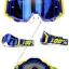 แว่นวิบาก100% (Goggle) สีเหลือง-น้ำเงิน thumbnail 1