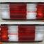 ไฟท้าย BENZ S-CLASS W126 1985-1993 ขาวแดง