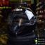 หมวกกันน็อคReal รุ่น Dawin สีดำเงา (สำหรับคนศีรษะใหญ่) thumbnail 2