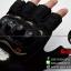 ถุงมือpro-biker (ครึ่งนิ้ว) สีดำ (ราคาพิเศษ) thumbnail 3
