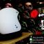 หมวกกันน็อคคลาสสิก Vintage 5เป๊ก สีขาวด้าน thumbnail 2