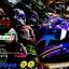 หมวกกันน็อคReal รุ่นHornet-GP-RACE สีน้ำเงิน-ม่วง thumbnail 2