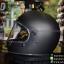 หมวกกันน็อคคลาสสิก OMD สีดำบรอนด์ด้าน thumbnail 2