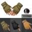 ถุงมือวินเทจ ครึ่งนิ้ว สีน้ำตาลอ่อน สำเนา thumbnail 5