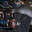 หมวกกันน็อคกะลา Chopper สีดำบรอนซ์ด้าน สำเนา thumbnail 1