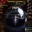 หมวกกันน็อคReal รุ่น Dawin สีดำเงา (สำหรับคนศีรษะใหญ่) thumbnail 1