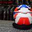 หมวกกันน็อคReal โมตาด Drift-S S-Cape สีขาว-แดง thumbnail 7