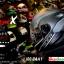หมวกกันน็อคRider รุ่น Vision X สี Dot Black White thumbnail 2