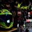 หมวกกันน็อคReal รุ่นHornet-GP-RACE สีเขียว thumbnail 2