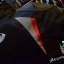 เสื้อการ์ดผู้หญิง Bacuda O2 สีดำ-แดง thumbnail 14