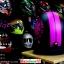 หมวกกันน็อคคลาสสิก 5เป๊ก สีดำด้านนลายม่วง (LB Speed Wheel) สำเนา thumbnail 2