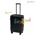 Fantastico กระเป๋าเดินทางซัฟไฟร์ 24 นิ้ว (61 ซม.) สีดำ รุ่น AXS97BK-M
