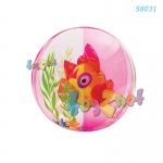 Intex บอลอะแควเรี่ยม 24 นิ้ว (61 ซม.) ปลาสีชมพู รุ่น 58031