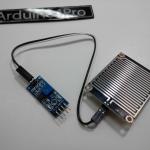 เซนเซอร์น้ำฝน ความชื้น Water Detection Sensor Module พร้อมสายไฟ